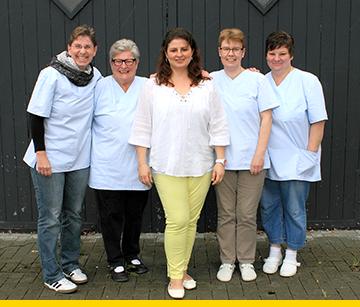 Moitv: Wäscherei-Team